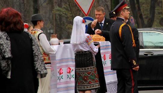 Prima vizită a președintelui Iohannis la Chișinău