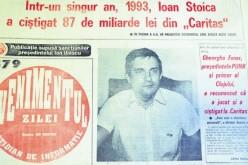 Gheorghe Funar a recunoscut că a luat bani de la CARITAS