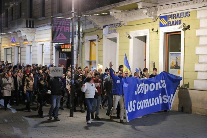 PROTEST PONTA CLUJ