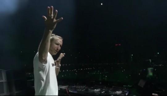 """Guetta plusează cu un video în care scrie """"Mulțumesc România."""" VEZI VIDEO"""