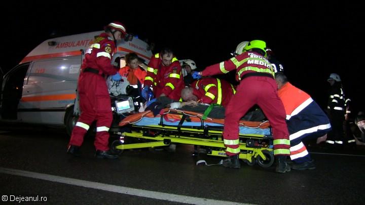 Accident cu șase victime din cauza unui șofer care făcea live pe Facebook