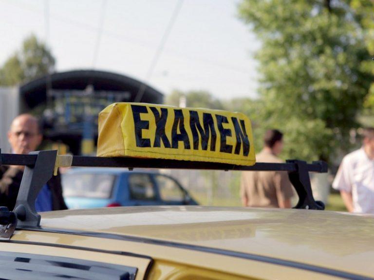 De azi la Cluj se reiau examenele pentru carnetul de conducere
