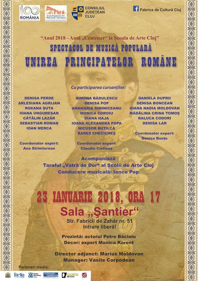 Ziua Principatelor Romane al Scoala de Arte Cluj