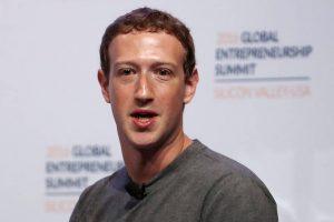 Mark Zuckerberg 2018