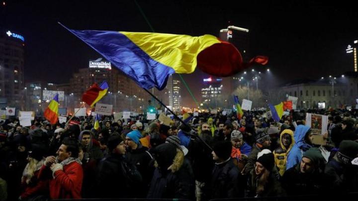 Protest la București împotriva DIICOT