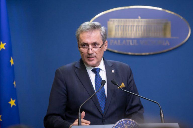 Ministrul de Interne s-a autoizolat, după ce a avut contact cu prefectul Clujului, confirmat cu COVID-19