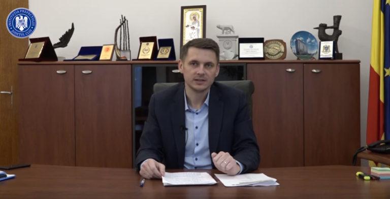 Prefectul Clujului și familia acestuia, testați pozitiv cu coronavirus