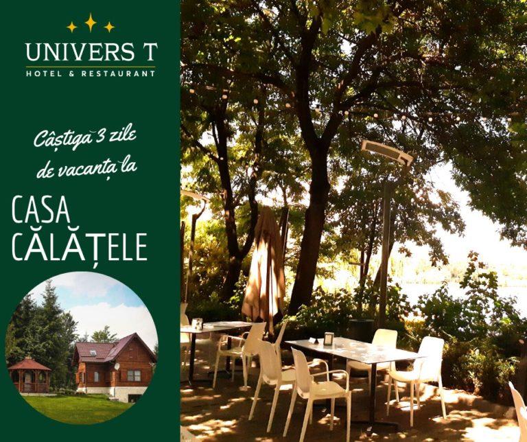 Hotel Univers T(e) trimite în Munții Apuseni. Tombolă organizată în parteneriat cu Casa Călățele