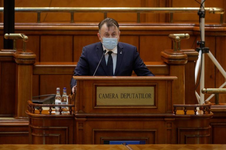 Proiectul de lege privind izolarea și internarea obligatorie va fi dezbătut astăzi în parlament
