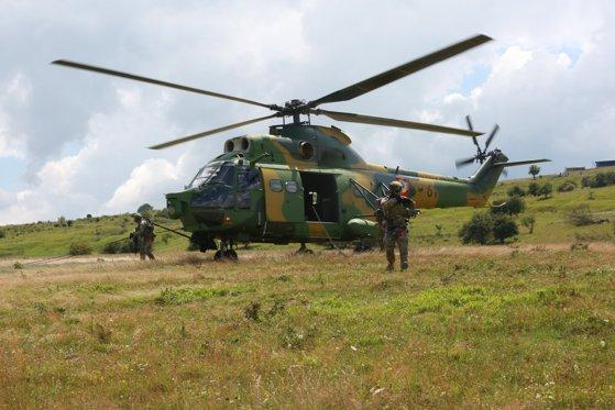 Elicopter românesc distrus în Mali. Niciun militar nu a fost rănit