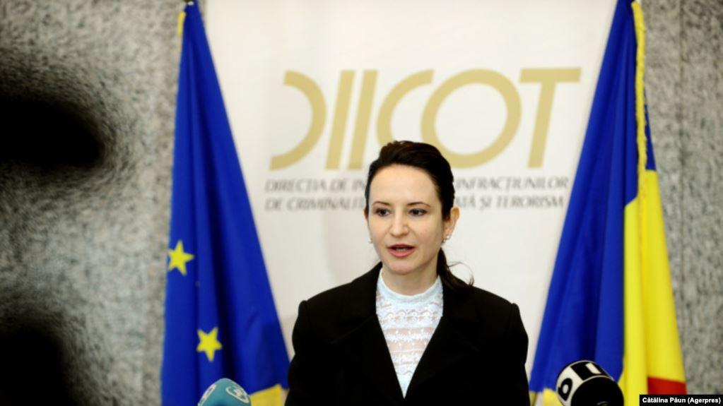 Giorgiana Hossu, procuror-șef DIICOT