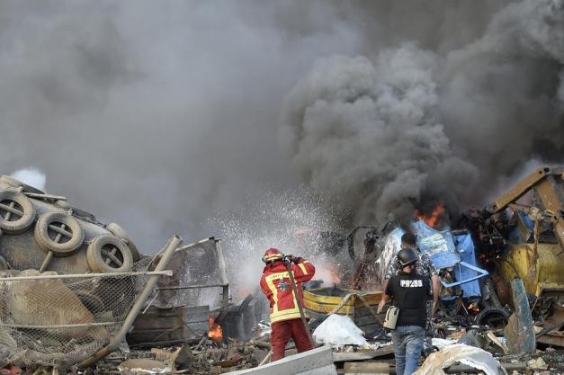 Capitala Libanului, zguduită de două explozii. 100 morți, peste 4000 de răniți