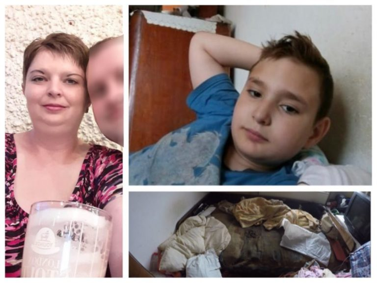 Copilul lăsat de o clujeancă să fie mâncat de viermi a murit